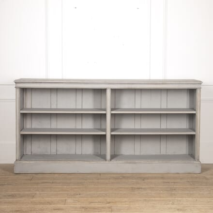 19th Century Painted Pine Bookcase BK8217092