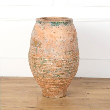 19th Century Painted Terracotta Pot GA7310123