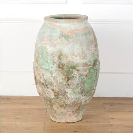 19th Century Painted Terracotta Pot GA7310125