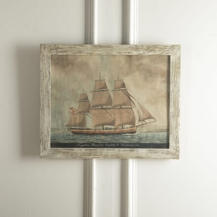 19th Century Painting of a Ship WD0210237