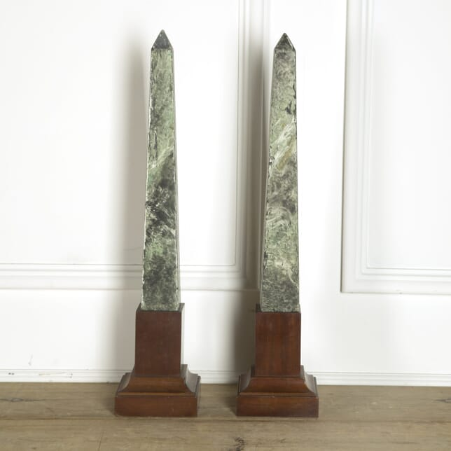19th Century Pair of Obelisks GA059423