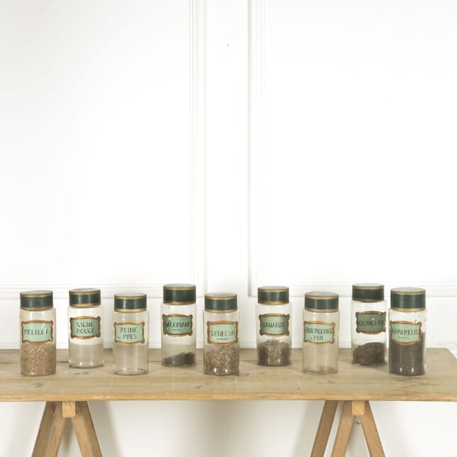 19th Century Pharmacy Herb Jars DA209790