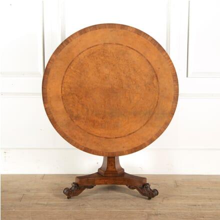 19th Century Regency Centre Table TC1010741