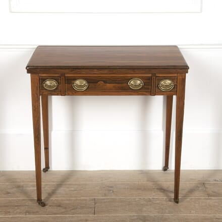 19th Century Rosewood Strung Games Table TC8816474