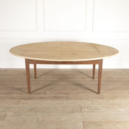 19th Century Rustic Oval Table TC0514643