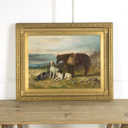 19th Century Scottish Oil Painting Dated 1863 WD889969