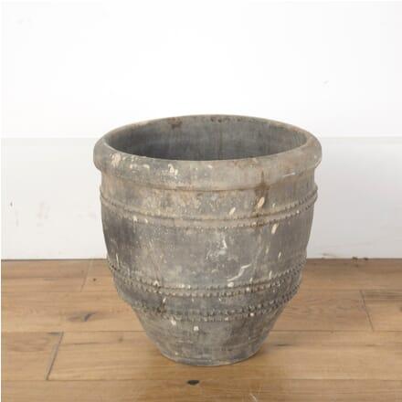 19th Century Small Black Spanish Pot GA7310128