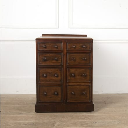 19th Century Small Mahogany Chest of Drawers CB0513707