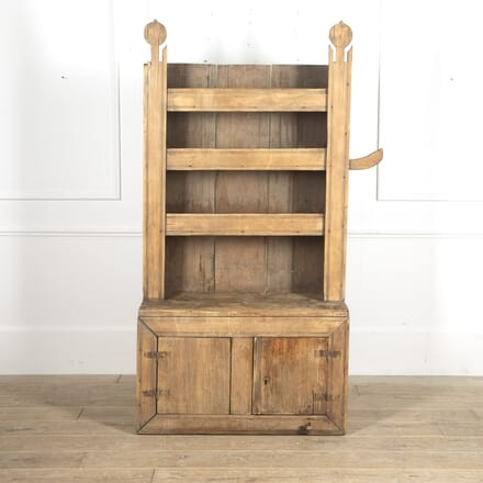 19th Century Small Pine Dresser CU7715656