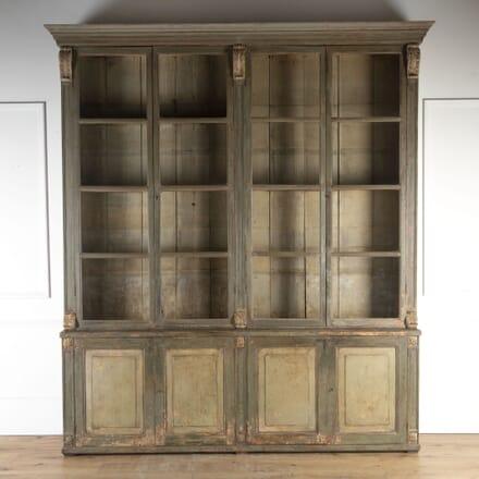 19th Century Spanish Bookcase BK9013878