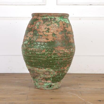 Spanish 19th Century Olive Pot GA9016098