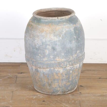 Spanish 19th Century Olive Pot GA9016100