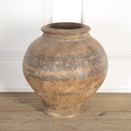 19th Century Spanish Terracotta Vase GA9013691