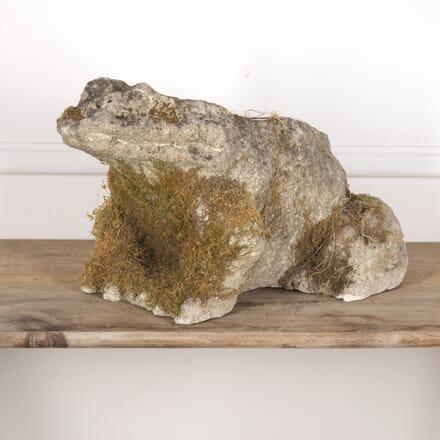 19th Century Stone Frog DA0215494