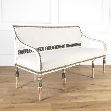 Stunning 19th Century Swedish Sofa SB8114187