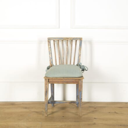 19th Century Swedish Chair CH379651