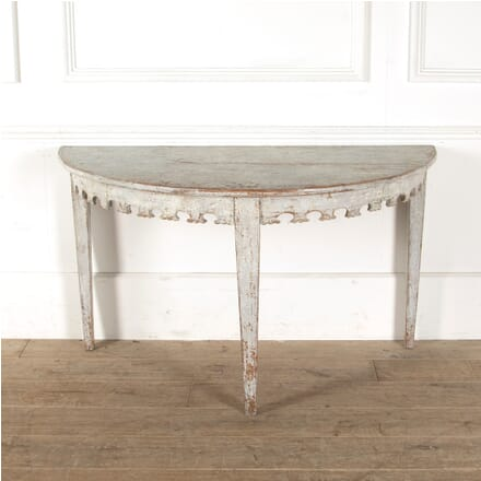 19th Century Swedish Console Table CO6011086