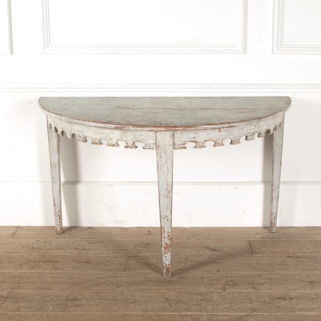19th Century Swedish Console Table CO6011086