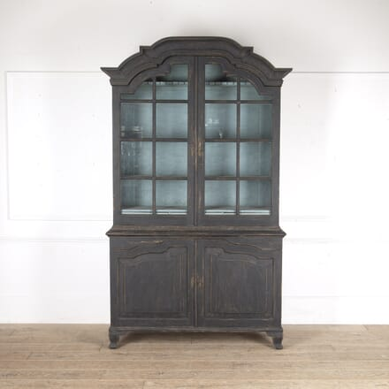 19th Century Swedish Glazed Cabinet CU6013682