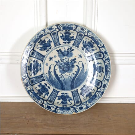 19th Century Tin Glazed Charger DA9011255