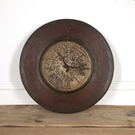 19th Century Tole Wall Clock OF9016900