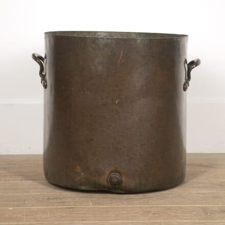 19th Century Two Handled Copper Planter GA8217087