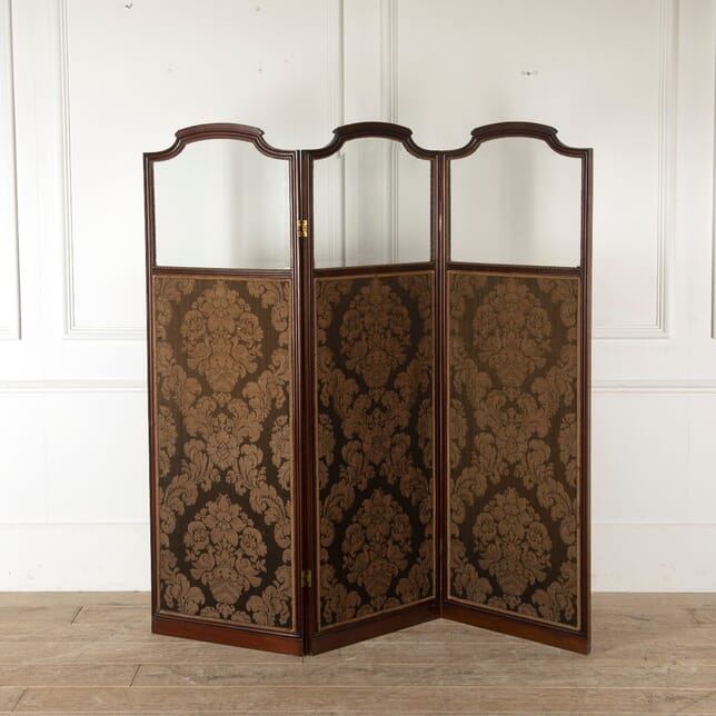 19th Century Upholstered Panelled Screen OF8810863