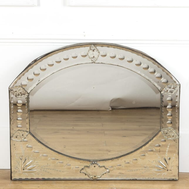 19th Century Venetian Looking Glass MI5110069