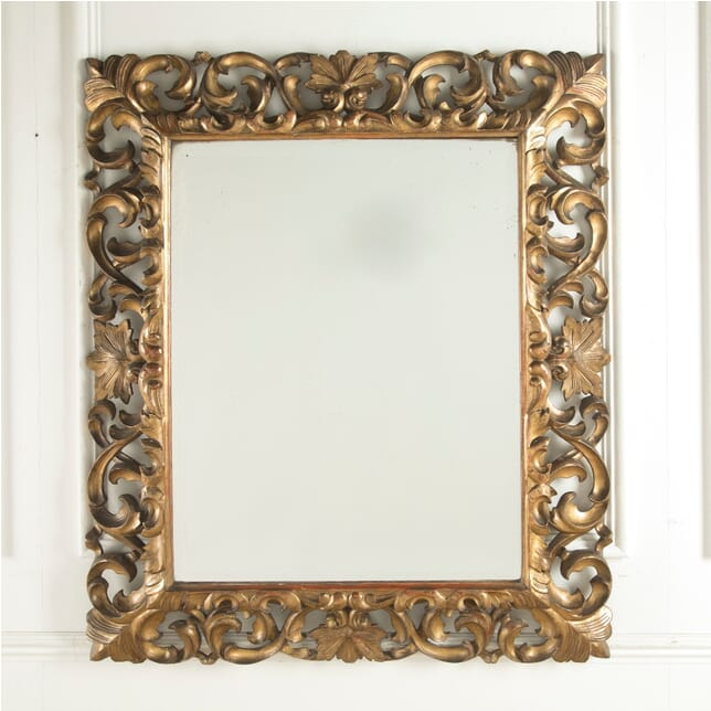 19th Century Bevelled Mirror MI259285