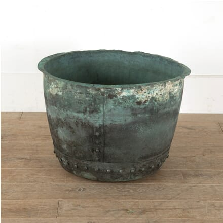 19th Century Verdigris Copper Planter GA0911055