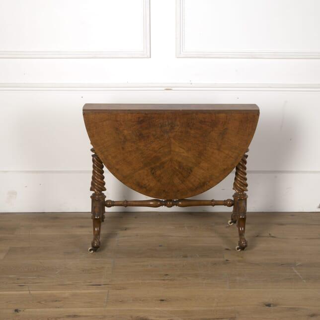 19th Century Victorian Drop Leaf Table TC5810541