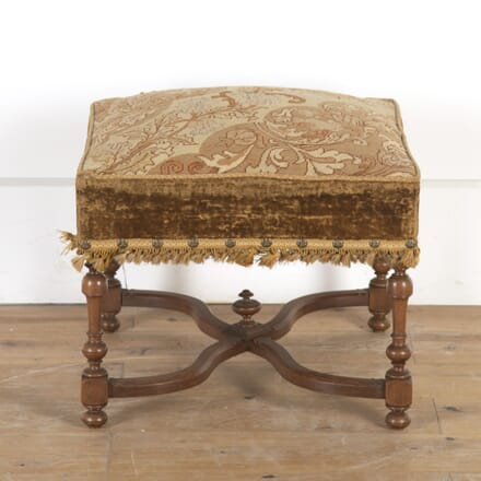 19th Century Walnut Footstool ST8513834