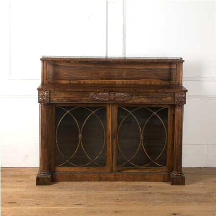 19th Century William IV Rosewood and Brass Chiffonier CO5810510