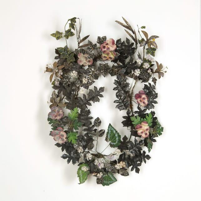 19th Tole Wreath WD159107