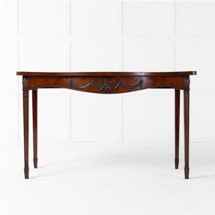 18th Century George III Mahogany 'Adam Style' Serpentine Side Table CO0614973