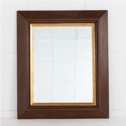 19th Century French Oak Mirror MI0614267