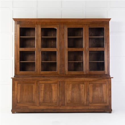 19th Century French Walnut Bookcase BK0615071