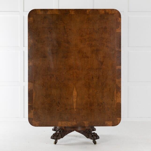 19th Century Burr Oak Table TS0610679