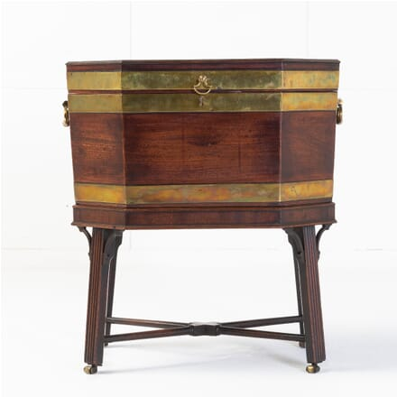 George III Mahogany Brass Bound Wine Cooler DA0614790