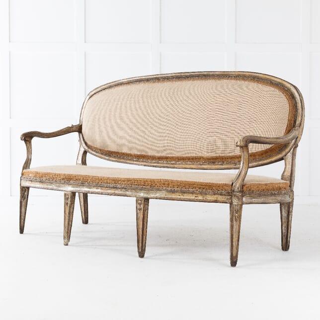 18th Century Italian Gilded Sofa SB0610636