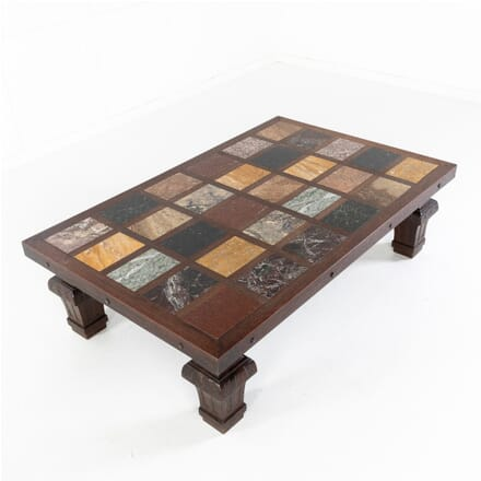1960s Specimen Marble Top Coffee Table CT0612000