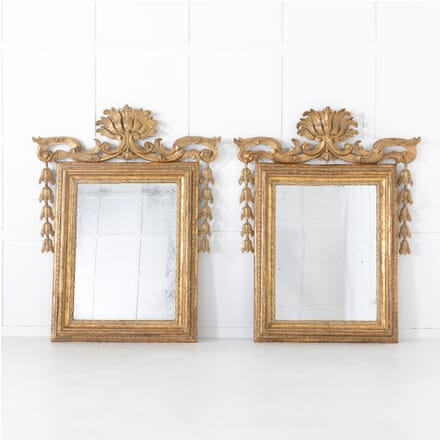 Pair of 18th Century Italian Rococo Mirrors MI0612009