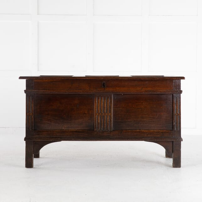 17th Century Panelled Oak Coffer CB0612560