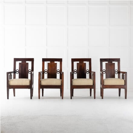Set of Four 1940s Chinese Rosewood Chairs CH0612562