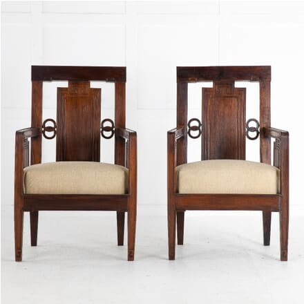 Pair of 1940s Chinese Rosewood Chairs CH0612676