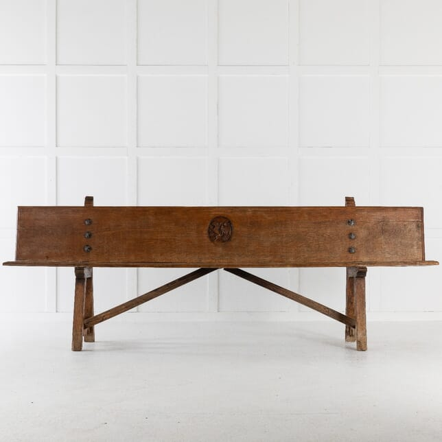 Pair of Early 18th Century Spanish Benches SB0612712