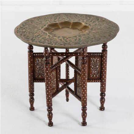Moroccan Brass Tray Table TC0613717