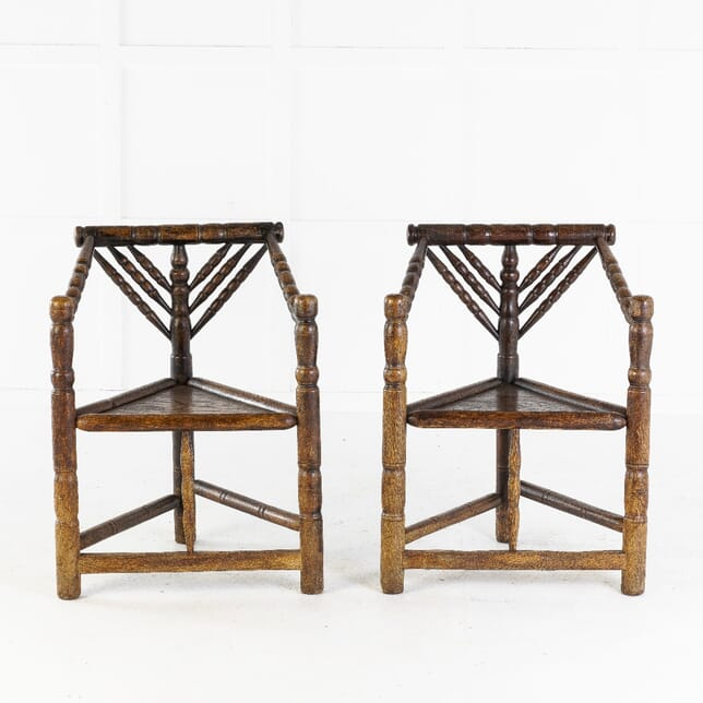 19th Century Pair of Turners' Chairs CH0614123