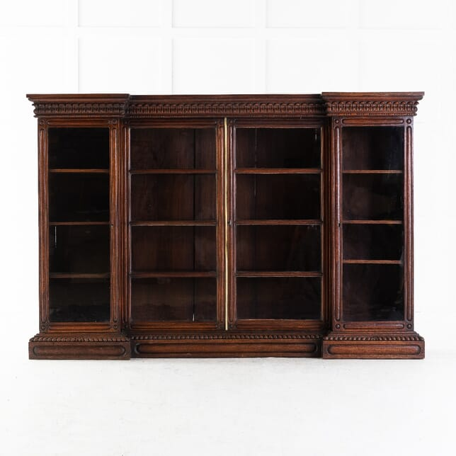 Anglo Indian Padouk Bookcase BK0613956