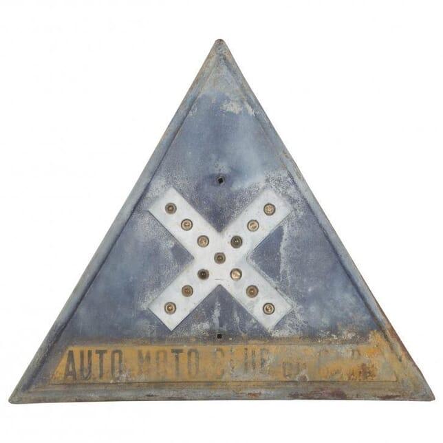 20th Century French Road Sign DA012201